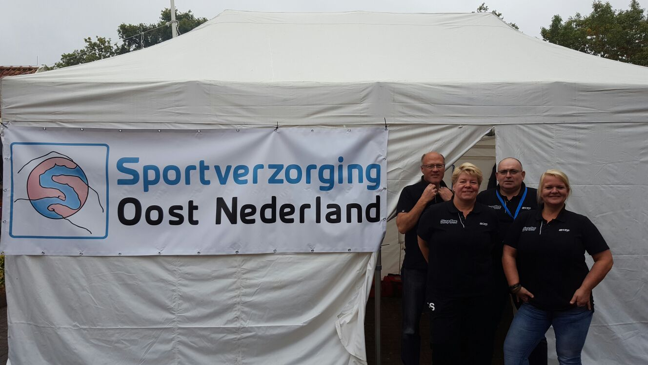 Verzorgingsteam Landgoed Marathon 2016